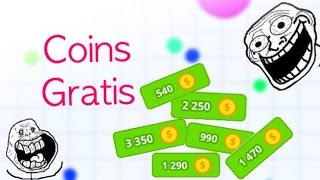 getlinkyoutube.com-Agar.io | Coins Gratis vs ƬψƬ