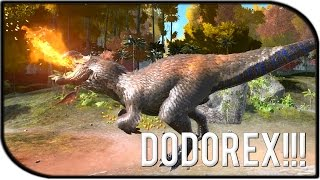 "getlinkyoutube.com-ARK: Survival Evolved DODOREX GAMEPLAY - ""THE TAMED DODOREX!!!"" (ARK FEAR EVOLVED!)"