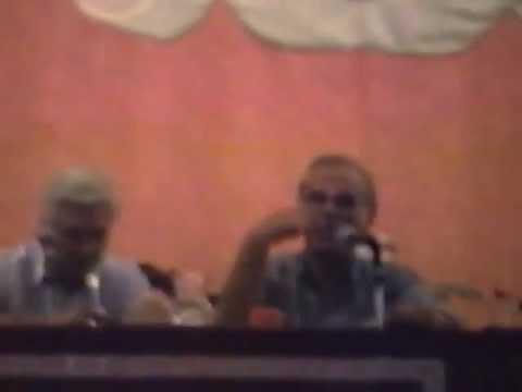 Conferencia de Roberto Canessa y Coche Inciarte. Año 1998