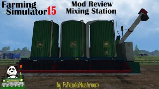 getlinkyoutube.com-Farming Simulator 15 Mod Review Mixing Station(Marhu)
