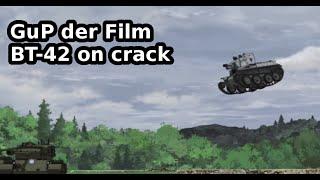 getlinkyoutube.com-Girls und Panzer der Film - BT-42 scene on crack (1/3)