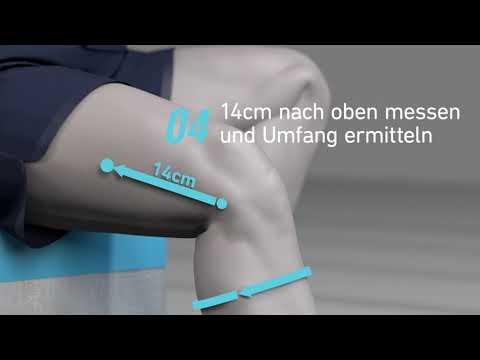 Bauerfeind Sports Knee Support - So vermisst du dein Knie korrekt