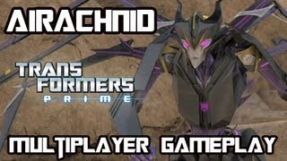 Transformers Prime: The Game - Airachnid Multiplayer Gameplay w/ Commentary