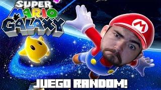 JUEGO RANDOM! Super Mario Galaxy!