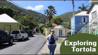 getlinkyoutube.com-1st Visit to TORTOLA [exploring on foot from cruise port] Travel Vlog episode 16