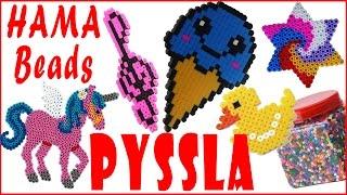 getlinkyoutube.com-Le mie creazioni in Pyssla-Hama Beads (NUOVA ❤ VERSIONE) Review/Recensione