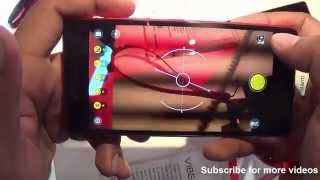 getlinkyoutube.com-Lenovo Vibe Shot Hands on Review - Camera, Features, Design