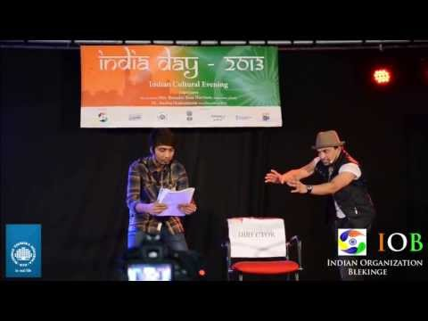 India Day Comedy Skit at BTH SWEDEN 2013(DIRECTOR AND ASPIRING ACTOR)
