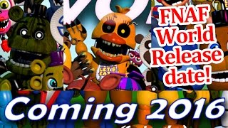 getlinkyoutube.com-FNAF World release date! Adventure nightmare chica and phantom freddy revealed! FNAF world news!