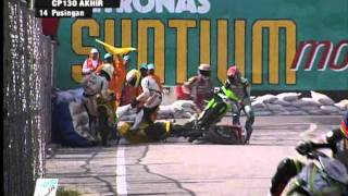 getlinkyoutube.com-2011 PETRONAS Malaysian Cub Prix Championship - Season Review: Crash Compilation