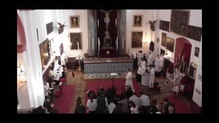 OFICIO SOLEMNE TRADICIONAL-GREGORIANO VIERNES SANTO 2017 SEVILLA (1ª PARTE)