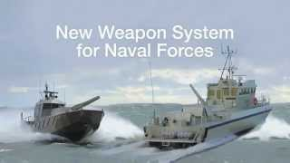 getlinkyoutube.com-Patria Nemo Navy 120mm Naval Mortar System