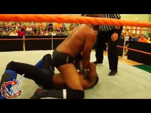 Nathan Vain Vs. Tony Ice (CWE National Championship Match - April 11, 2014)