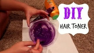 getlinkyoutube.com-DIY Hair Toner for Blondes!