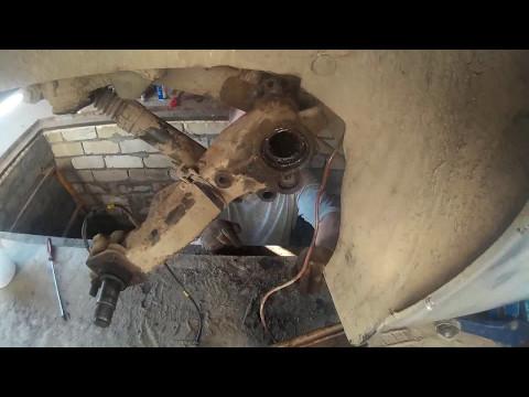Ремонт задней балки, подвески на Peugeot, Пежо 206