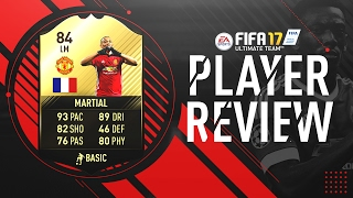 FIFA 17 | IF Martial (84) Player Review!! w/Gameplay & In-Game Stats width=