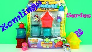 getlinkyoutube.com-Zomlings Series 2 Crystal House, Tower & Ultra Rare Multipack Toy Review, Magic Box Int