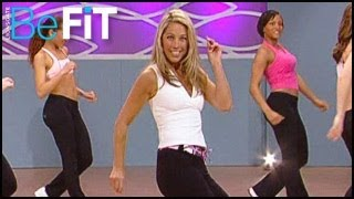 getlinkyoutube.com-Denise Austin: Total Body Burn Cardio Dance Workout