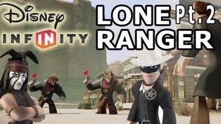 getlinkyoutube.com-Lone Ranger Gameplay Part 2 - Disney Infinity w/ Mom & Dad (Tonto)