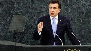 getlinkyoutube.com-Карабах. Саакашвили в ООН: Правда о Карабахском Конфликте! Нагорный Карабах - Азербайджан не Армения