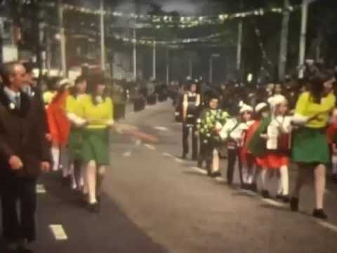 1970's Easter Parades Part 1 (Rare Footage)