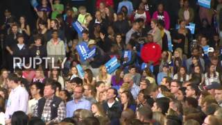 getlinkyoutube.com-LIVE: Hillary Clinton and Michelle Obama campaign in Winston-Salem