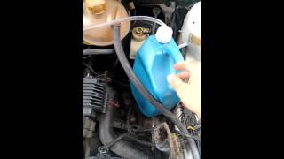 Pick up corsa movida a vapor de gasolina