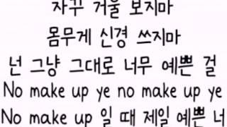 getlinkyoutube.com-[음원/가사] Zion.T - No Make Up