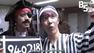[ENG] 141110 [BANGTAN BOMB] Enjoy 2014 Halloween
