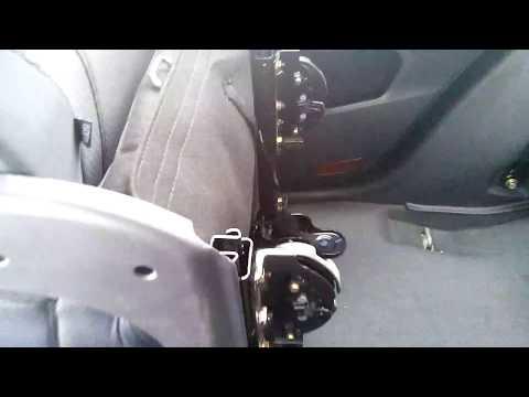 Geely Emgrand X7 Складываем задние сиденье