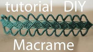 getlinkyoutube.com-tutorial pulseras macrame cavandoli bracelet macrame