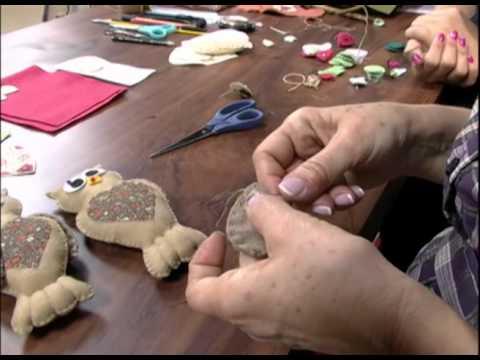 Mulher.com 27/07/2012 Carmen Silva - Guirlanda de coruja 01