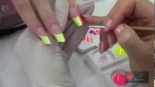 "getlinkyoutube.com-Nail Art Degradé ""step by step"" - Laif Nail Collection"