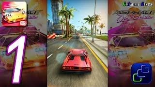getlinkyoutube.com-Asphalt OverDrive Android Walkthrough - Gameplay Part 1 - Getaway, Stunt Run, Destruction