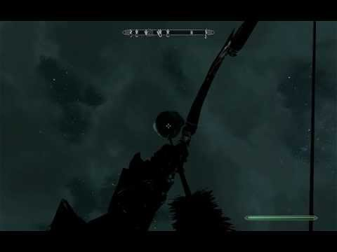 Skyrim Best Bow trick shots ever made!