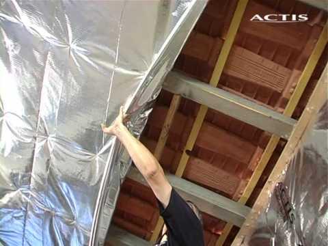 Come coibentare un tetto fai da te mania - Isolamento termico dall interno ...