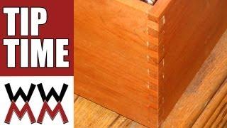 getlinkyoutube.com-Make a simple woodworking box joint jig