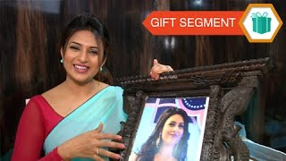 getlinkyoutube.com-Divyanka Tripathi - GIFT SEGMENT Part 1 - Exclusive Tellymasala