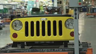 getlinkyoutube.com-Jeep Liberty and Jeep Wrangler Production