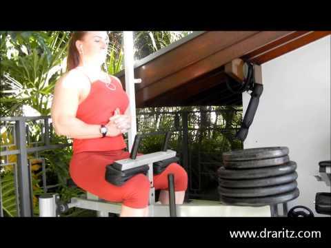 DRA RITZ TV: Treinamento de Panturrilhas para Hipertrofia