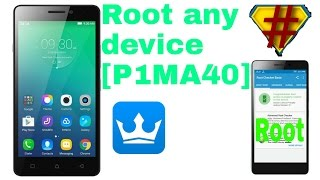 How to root android lollipop without PC [Lenovo P1m]