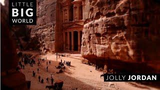 Jolly Jordan (Time-Lapse ,Tilt-Shift)
