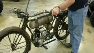getlinkyoutube.com-1917 Cleveland A2 Lightweight vintage antique motorcycle
