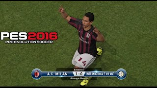 getlinkyoutube.com-PES 2016 - Inter Milan vs AC Milan Gameplay PS4 (Italian Commentary)