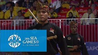 getlinkyoutube.com-Pencak Silat Men''s Ganda(Doubles) - Finals 3rd Placing (Day 5)   28th SEA Games Singapore 2015