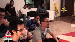 getlinkyoutube.com-فرحة مبتعثين هلاليين بعد هدف جحفلي الهلال على النصر في نهائي كأس الملك
