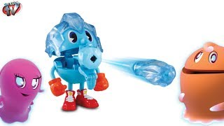getlinkyoutube.com-PAC-MAN & The Ghostly Adventures Ghost Grabbin' Ice Pac Toy Pacman TOYS Video Review