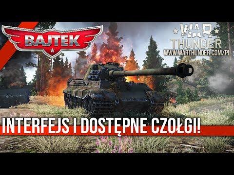 War Thunder Ground Forces | #01 Beta na Kółkach - Interfejs i dostępne czołgi!