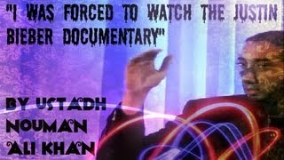 """I Was Forced to Watch the Justin Bieber Documentary"" - FUNNY - Ustadh Nouman Ali Khan"