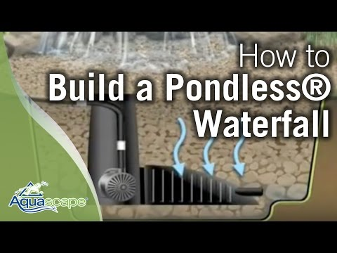How To Build A Pondless® Waterfall - Aquascape